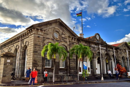 Post-office, Port-Louis, Mauritius